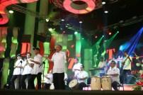 Las gaitas también alegraron la Gala Audiovisual de CONATEL. (Foto: Jesús Fernández)