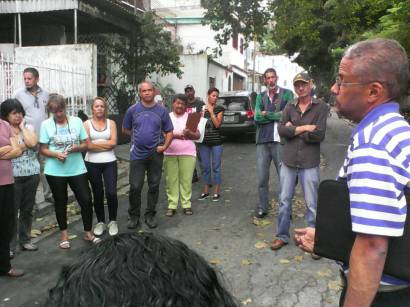 Reunión con la comunidad de Gavilán, municipio El Hatillo. (Foto: Jesús Fernández)