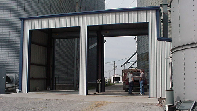 Alliance Grain Steel Frame Building