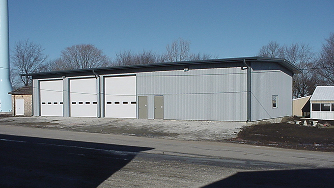 Strawn Fire Department Steel Frame Building
