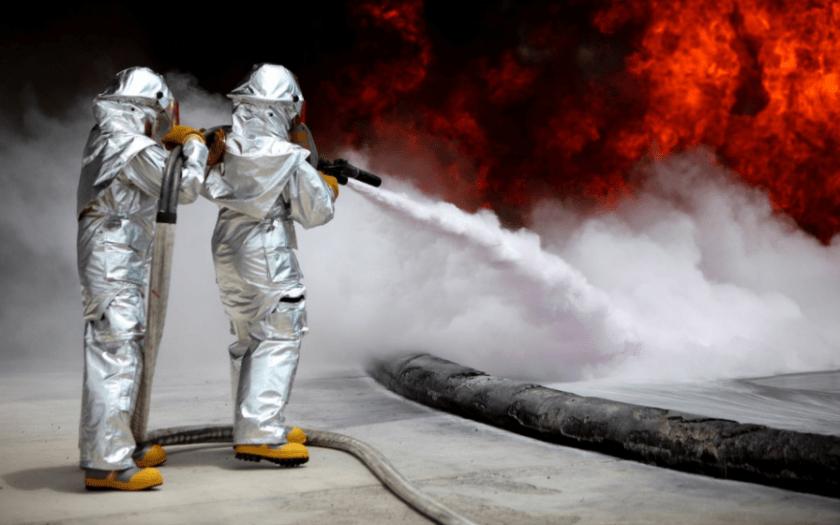 Experts fumigating