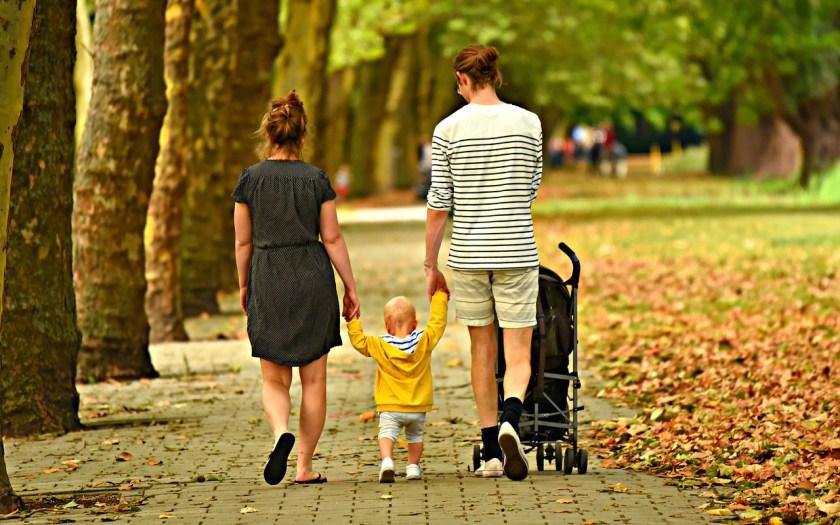 family baby stroller