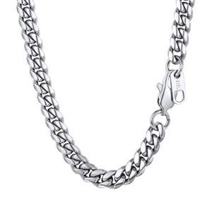 🥇12 Mejores Cadenas de plata para hombre 2020✅ 7