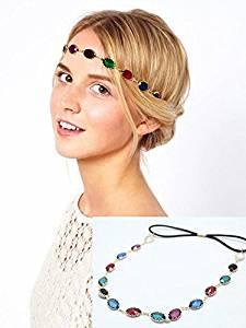 Yean cabeza cadena accesorios para el pelo para las mujeres y las niñas 1