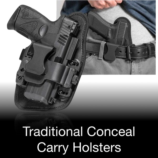 Traditional Conceal Carry Holsters