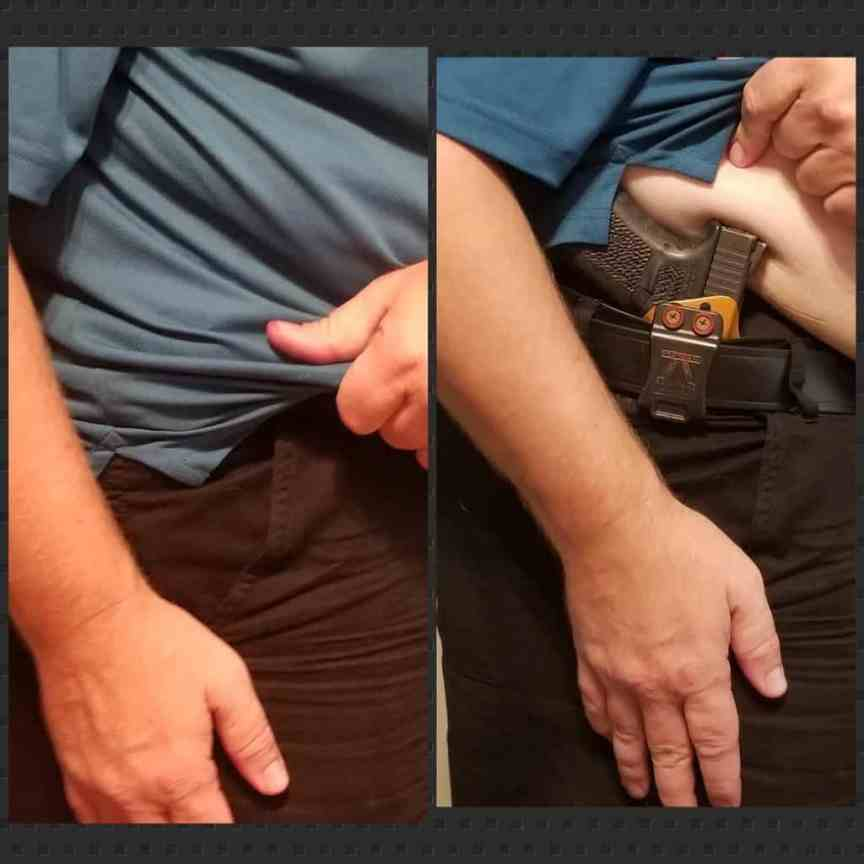 the concealed carry quick draw