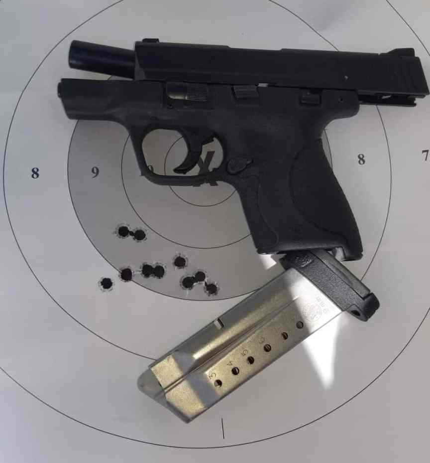 SMITH AND WESSON SHIELD FOR CONCEALED CARRY