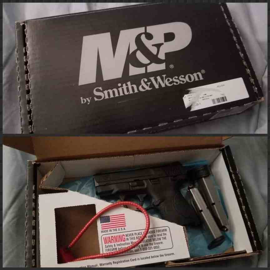 SMITH AND WESSON SHEILD FOR CONCEALED CARRY