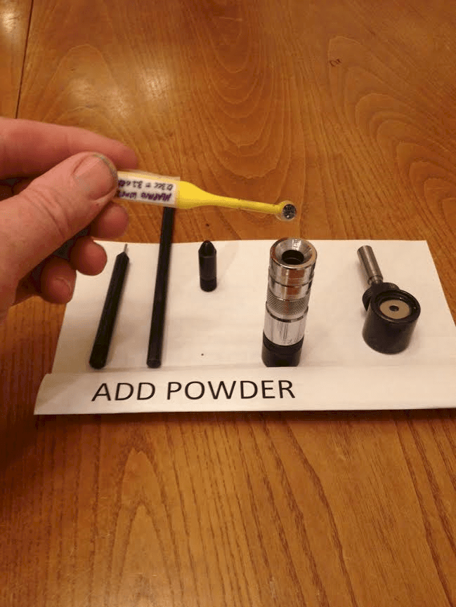 add powder