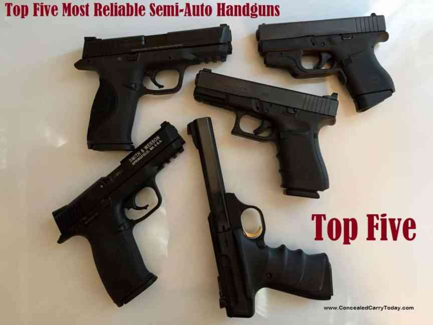 best handguns ever made
