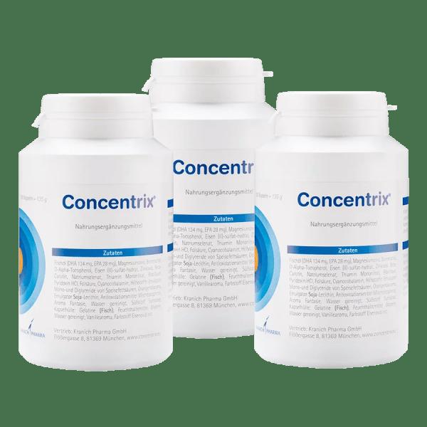 große Packung Concentrix 540 Kapseln