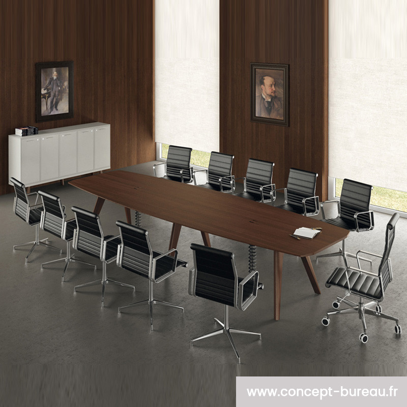 grande table de reunion en 2 plateaux pour 12 personnes chenaie
