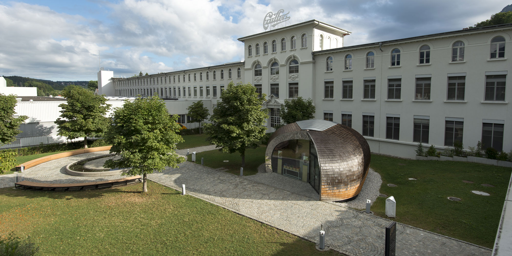 Concept Consult Architectes Pavillon Maison Cailler