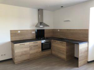 cuisines sur mesure Lure Roye Belfort contemporaine moderne bois noir