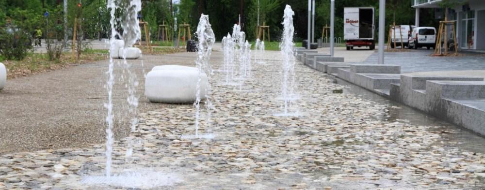 Ostwald - Ilot A - Fontaines