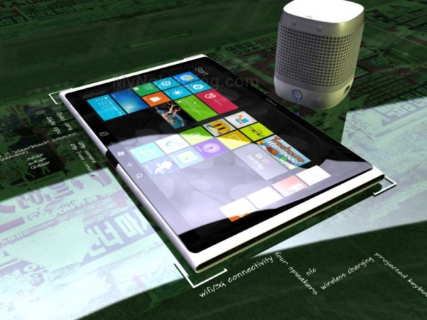 Nokia Lumia Expresso Windows 8 Concept Tablet Features 10.1 Inch Display, 1.2GHz Quad Core CPU
