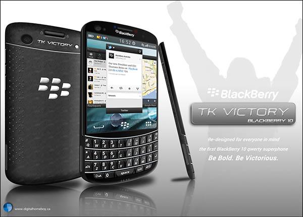 BlackBerry TK Victory Render Has a Nano SIM Slot, Quad Core Processor