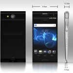 Sony Xperia X Mockup Inspired by the Design of the Xperia Tablet S