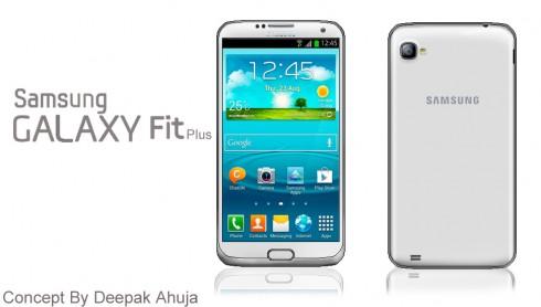 Samsung Galaxy Fit Plus, a Deepak Ahuja Concept