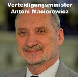 Verteidigunsminister Macierewicz