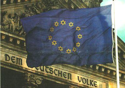 EU-Flagge: 12 Stämme Israels