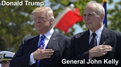 Trump und General Kelly