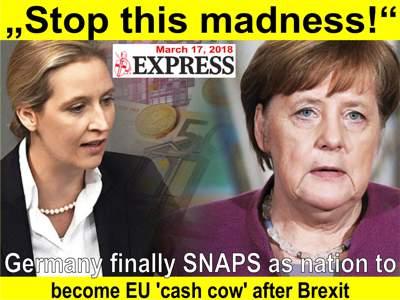 BRD die Meklkuh der EU