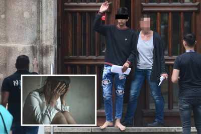 jubelnde Vergewaltiger, ohne Strafe im Merkelisten-Land