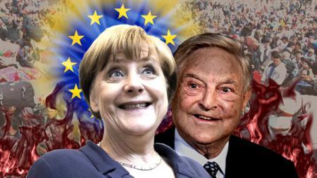 Mörder Merkel und Soros