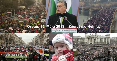 Orbans Jahrhundertrede am 15. März 2018