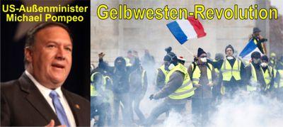 Pompeo und die Gelbwesten-Revolution