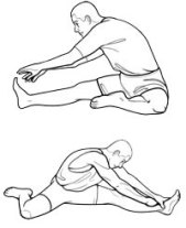 Image result for leg stretches
