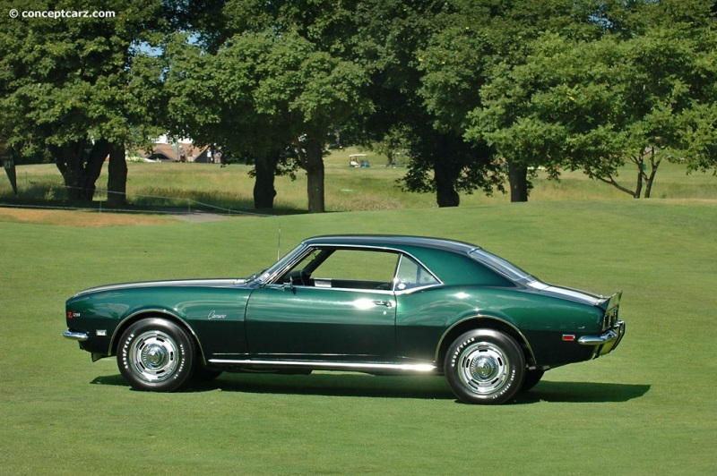 1968 Chevrolet Camaro Z28 History  Pictures  Value  Auction Sales     1968 Chevrolet Camaro Z28 vehicle information