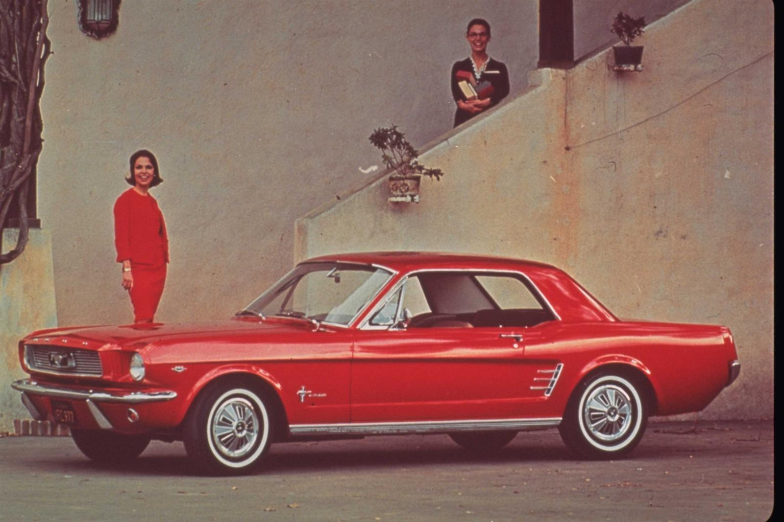1964 Mustang Gt Rear View Ford