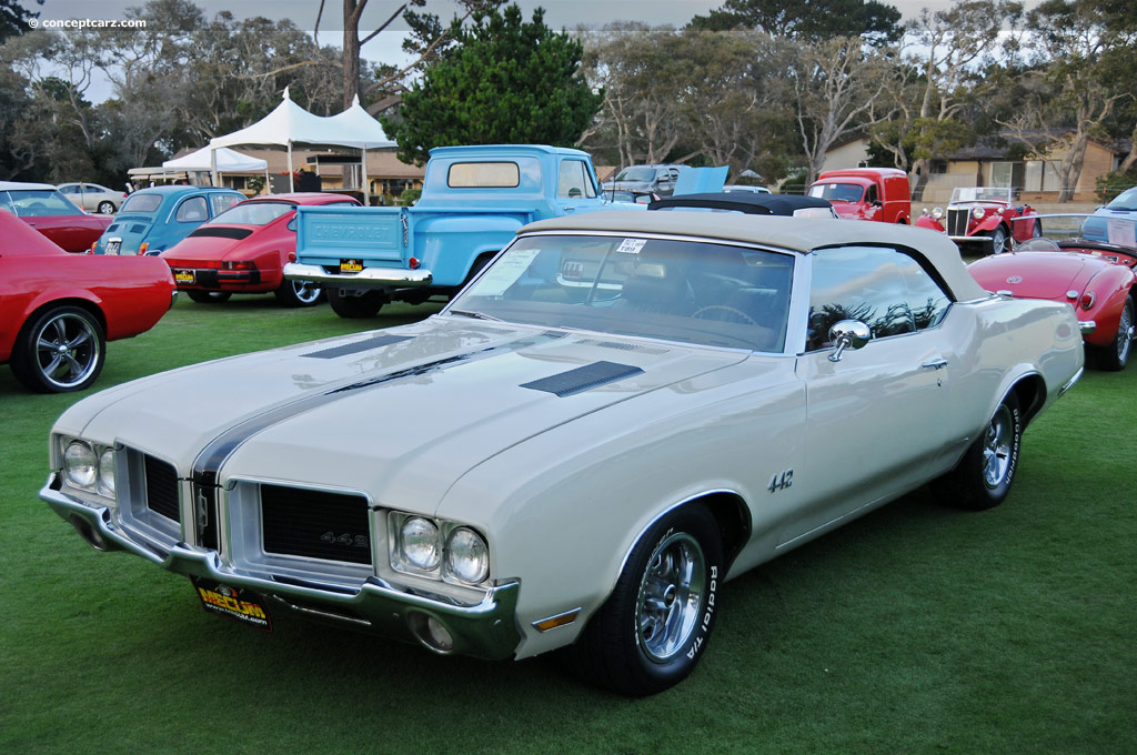 1971 Oldsmobile 442 History Pictures Value Auction