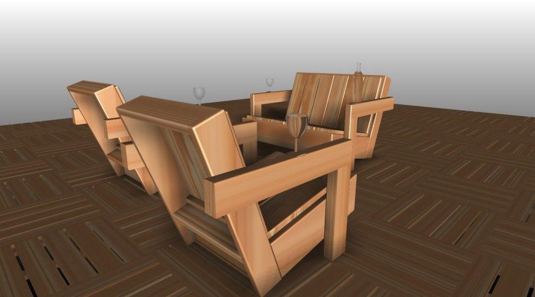 Concept Douglas - le design côté jardin - salons de jardin