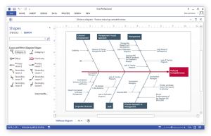 Create Visio Fishbone Diagram | ConceptDraw HelpDesk