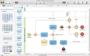 Creating Visio Business Process Diagram | ConceptDraw HelpDesk