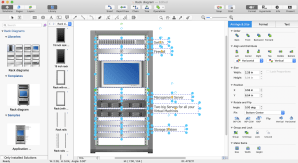 Create a Visio Rack Diagram | ConceptDraw HelpDesk