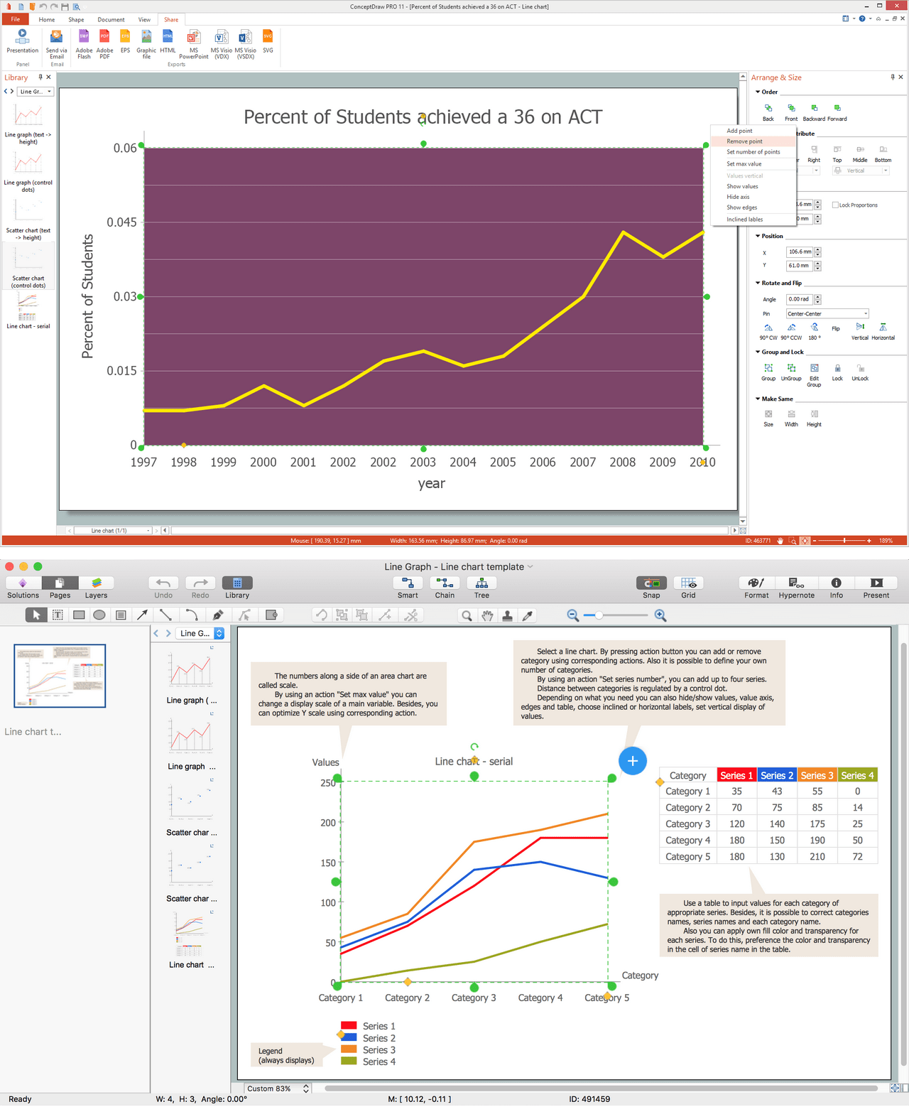 Create Graphs And Charts Free Trial For Mac Amp Pc