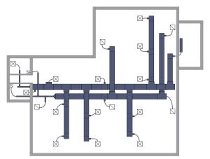 HVAC Plans Solution | ConceptDraw