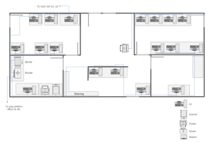 Network Layout Floor Plans Solution | ConceptDraw