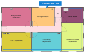Network Layout Floor Plans Solution | ConceptDraw