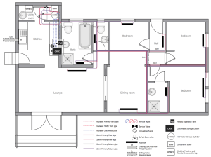 Plumbing and Piping Plans Solution | ConceptDraw