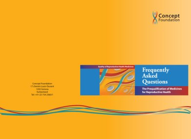 Frequently Asked Questions on the Prequalification of Medicines for Reproductive Health – Chinese