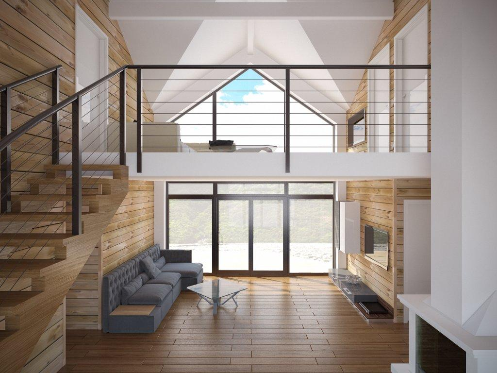 Small House plan CH21 building plans in modern ...