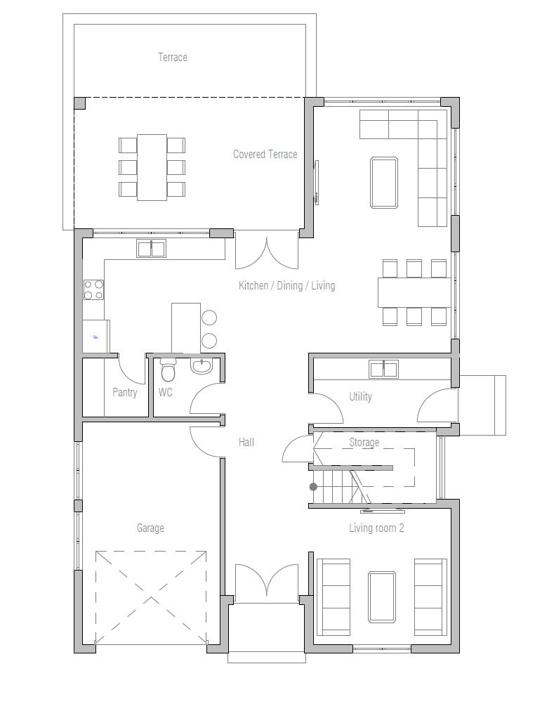 House Plan Ch329 House Plan
