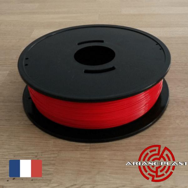 PLA Rouge Arianeplast Fabriqué en France