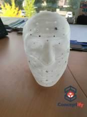 Masque imprimé en 3D pour motion capture