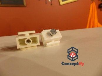 Attache de radiateur impression 3D